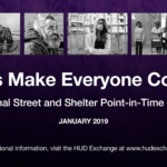 Point In Time Count Scheduled for January 22, 2019